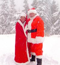 Santa Claus & Mrs. Claus