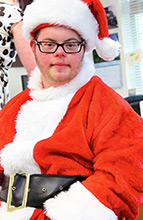 Santa's Helper - Downs Syndrome Research Foundation